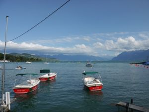 View from the world champs sprint - Lake Geneva. By Simon Bradbury.